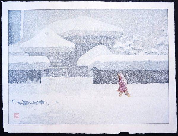 toshi yoshida snow - Google Search