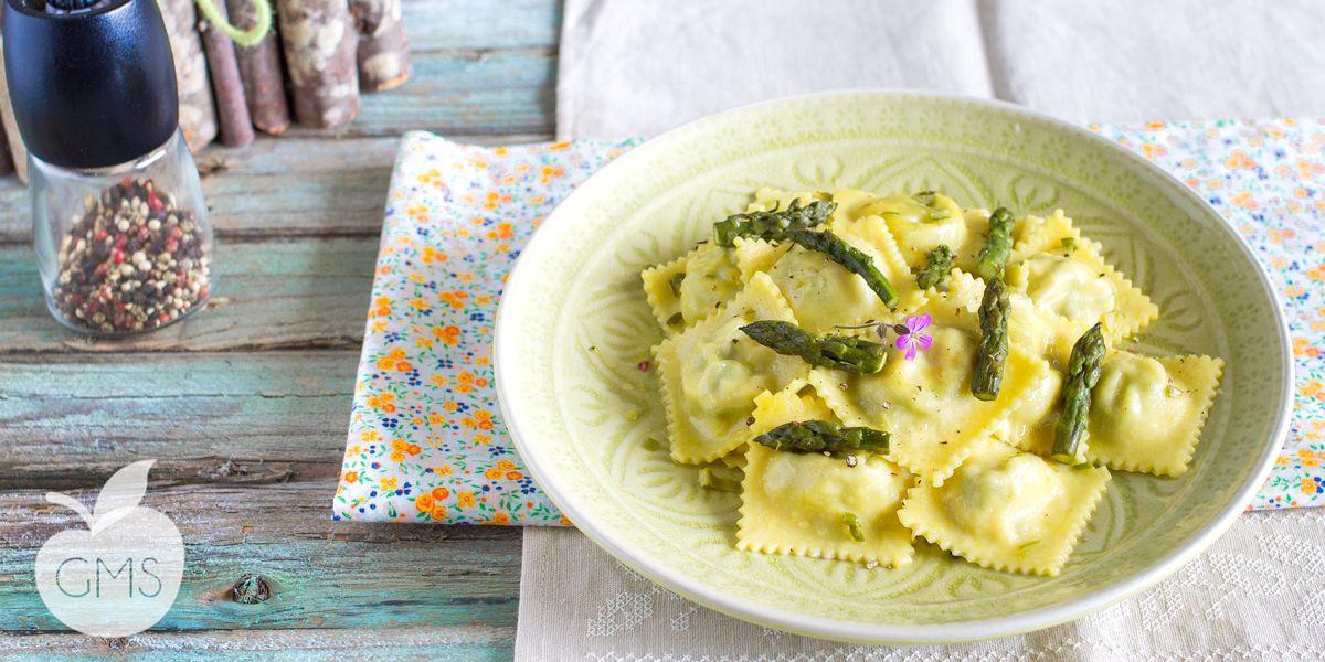 Ricetta Ravioli Vegan.Ravioli Agli Asparagi Ricetta Vegan Il Goloso Mangiar Sano Ricette Cibo Etnico Ricette Vegane