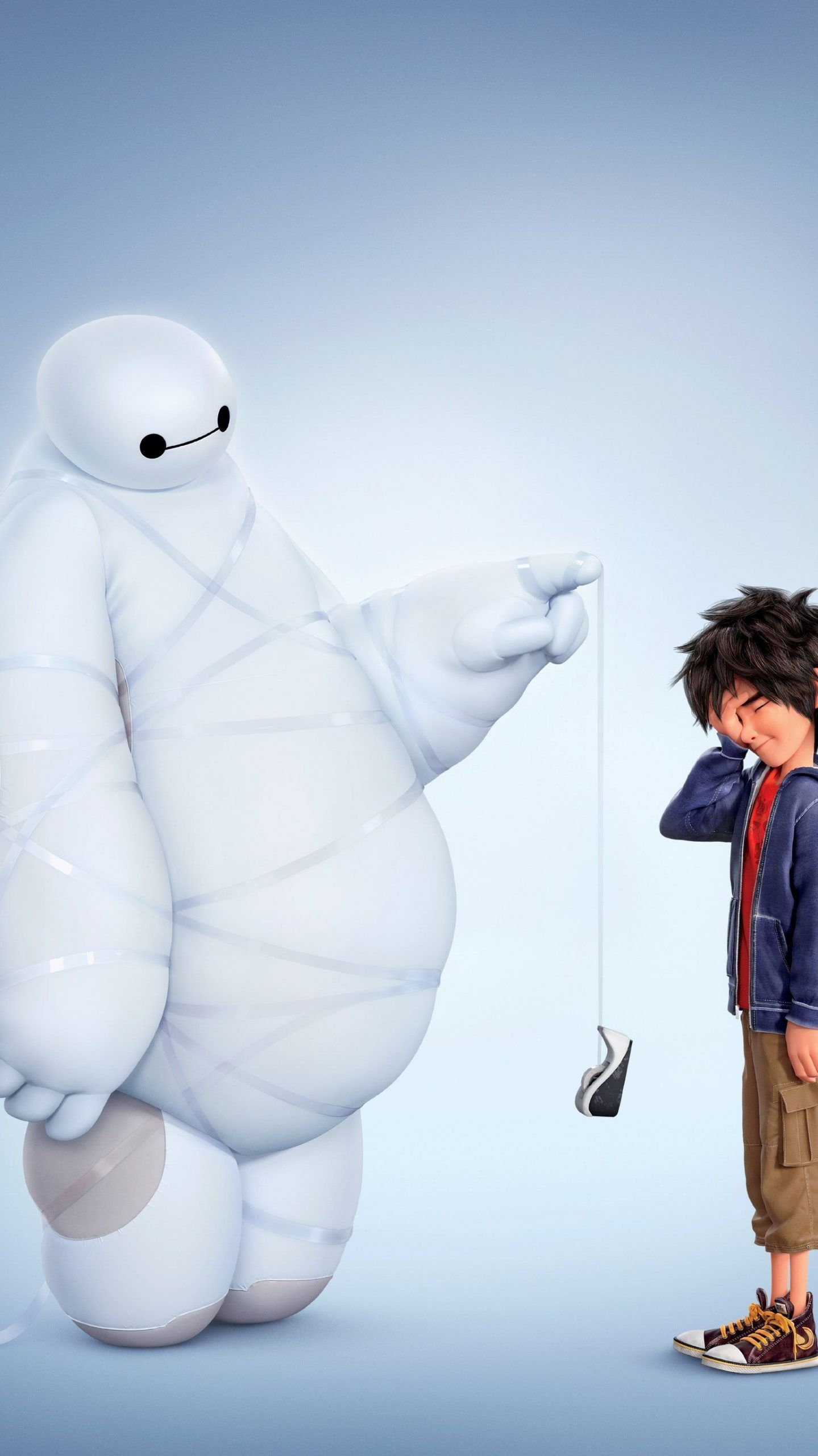 Big Hero 6 (2014) Phone Wallpaper in 2020 Hero wallpaper
