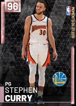 4249) Stephen Curry - NBA 2K19 Custom Card - 2KMTCentral