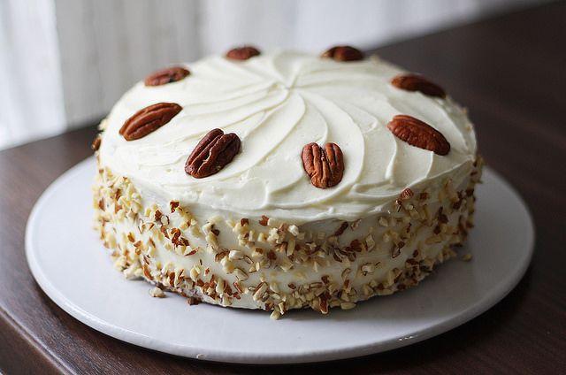 Carrot cheese cake - Porkkanakakku