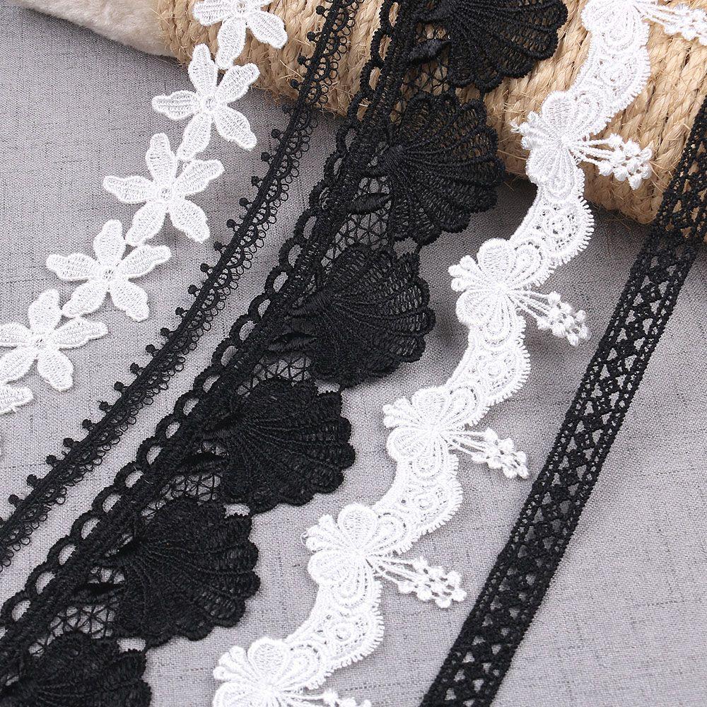 Applique broderie à coudre tissu en dentelle mariage Craft Trim Garment Supply
