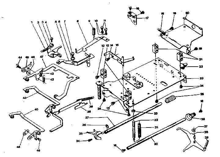 Adding Machine Parts