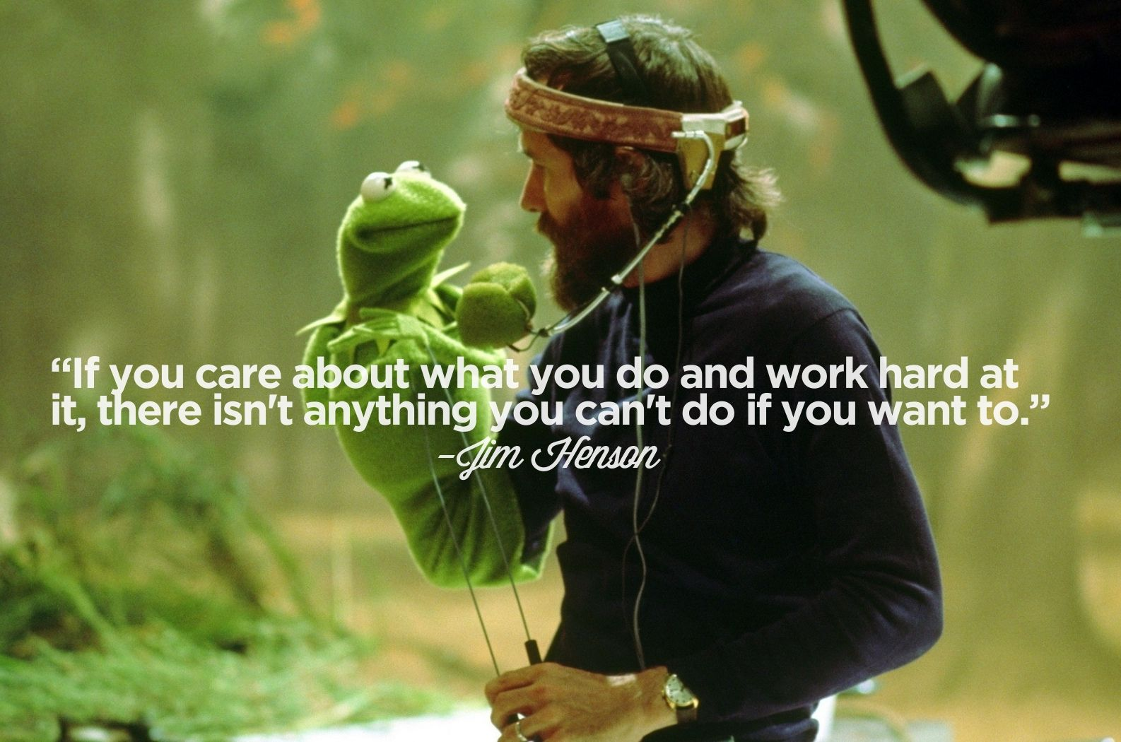 """""""If you care about what you do and work hard at it, there isn't anything you can't do if you want to."""""""