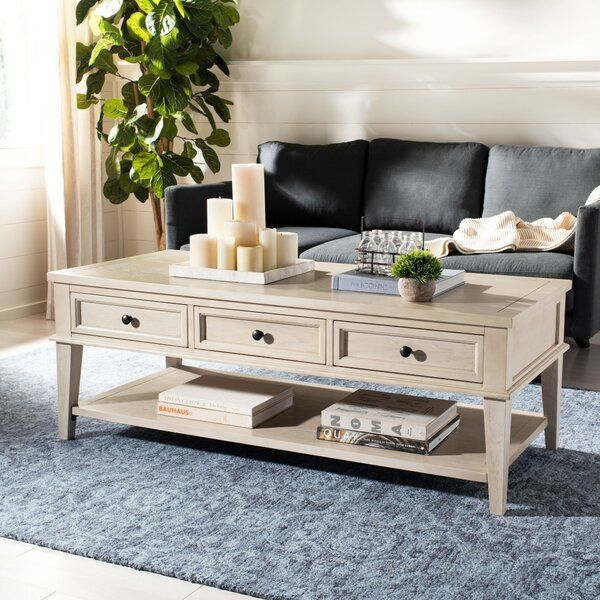 Marvelous Yelena Coffee Table With Storage Beach House In 2019 Machost Co Dining Chair Design Ideas Machostcouk