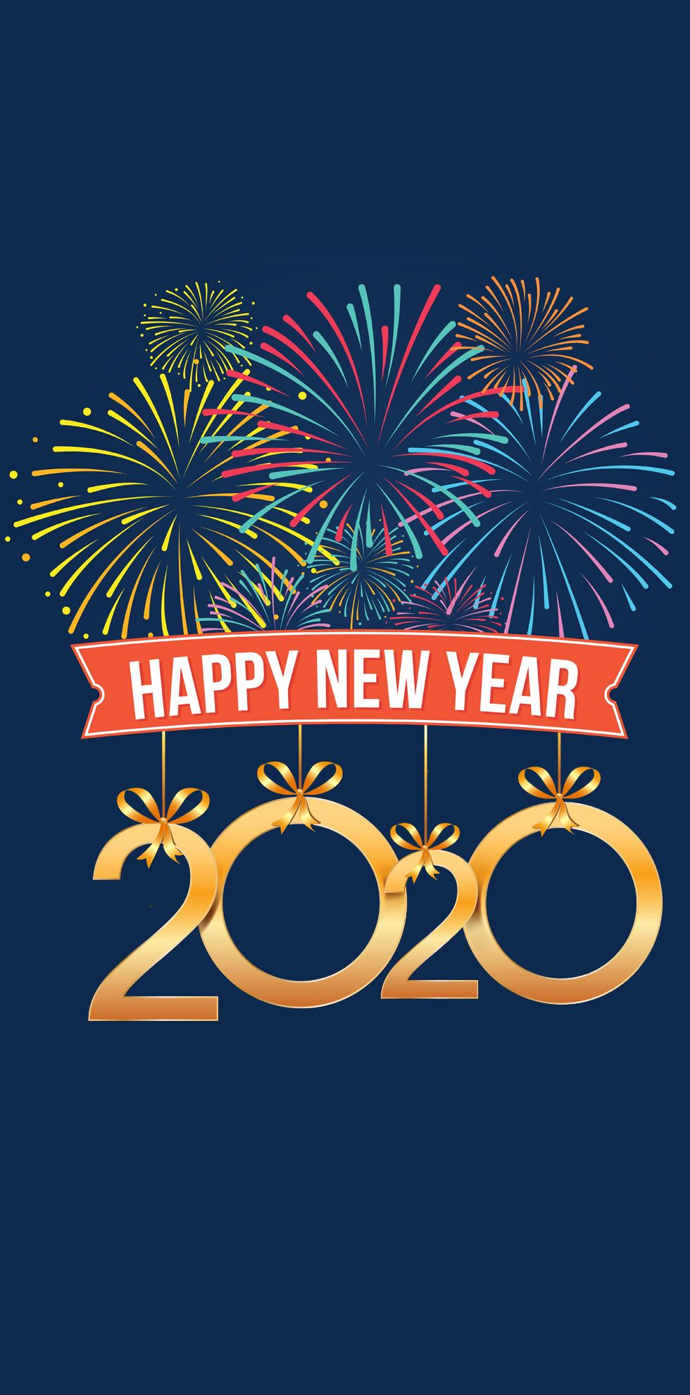 2020 Happy New Year Mobile Wallpaper Mobile Wallpaper Happy New Happy New Year