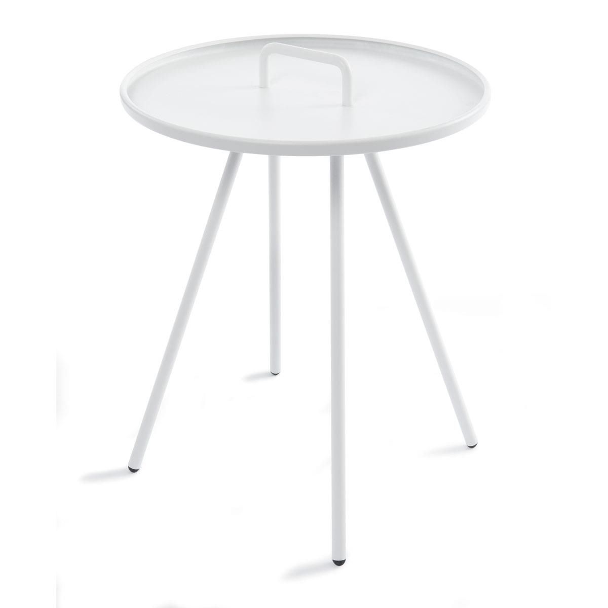 round outdoor metal table. Round Metal Table - White Option For Downstairs Outdoor. To Use With Black Or Chairs Outdoor