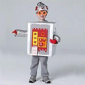 deguisement robot robot espace pinterest d guisements deguisement enfant et carnaval. Black Bedroom Furniture Sets. Home Design Ideas
