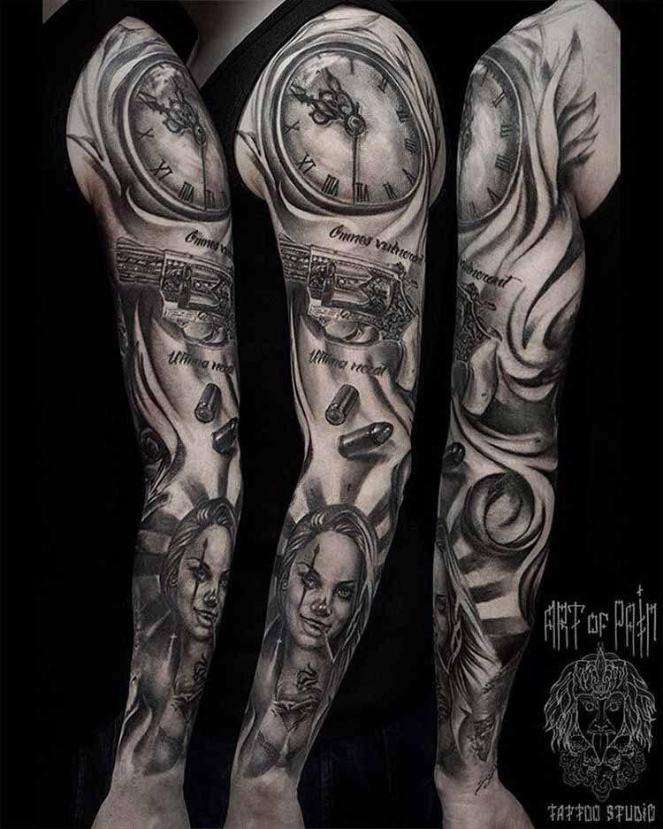 Chicano Sleeve Tattoo Designs | para tattoo | Sleeve ...