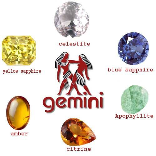 Your Stones for Gemini Rising Signs