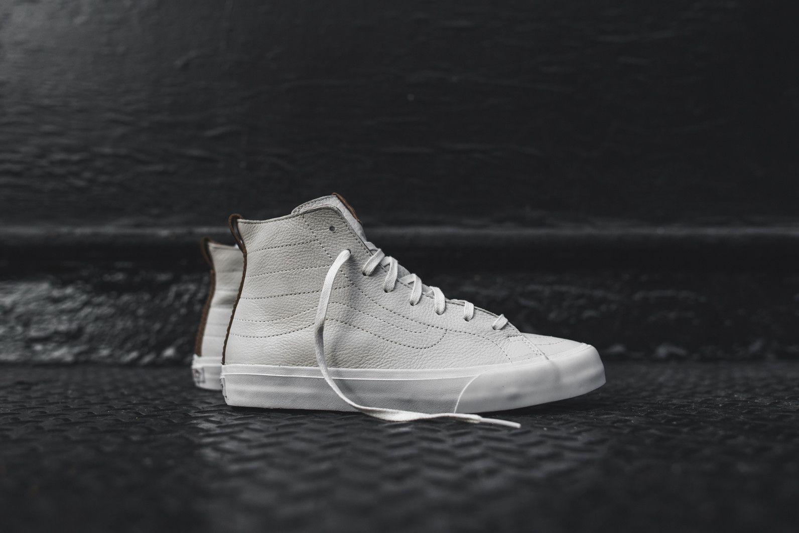 Vans CA Sk8Hi Decon  Winter White Mens Sneakers Leather