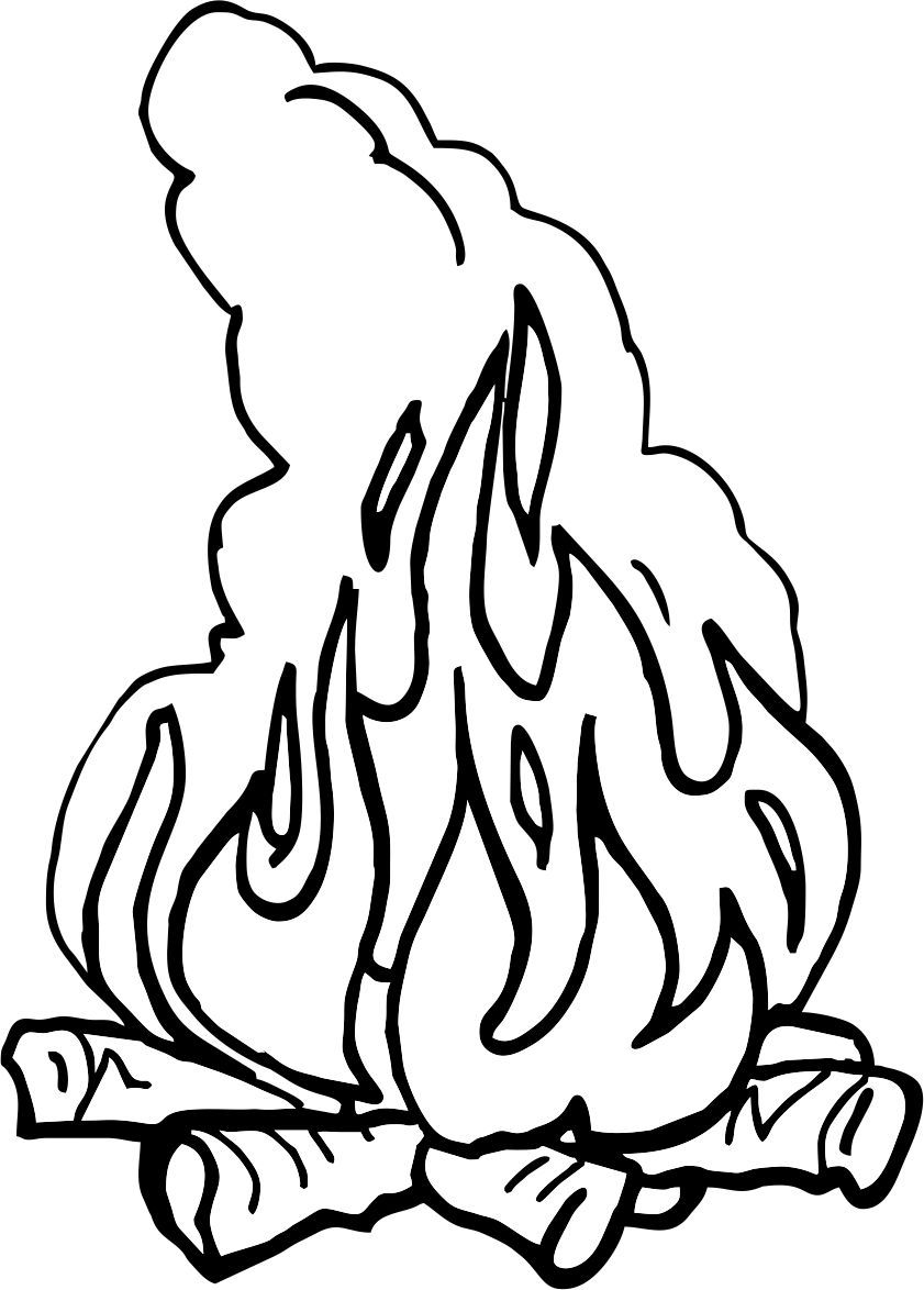 Pin von Claudia Kündig auf Ausmalbilder biblisch | Pinterest | Feuer ...