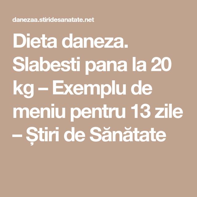 dieta daneza meniu)