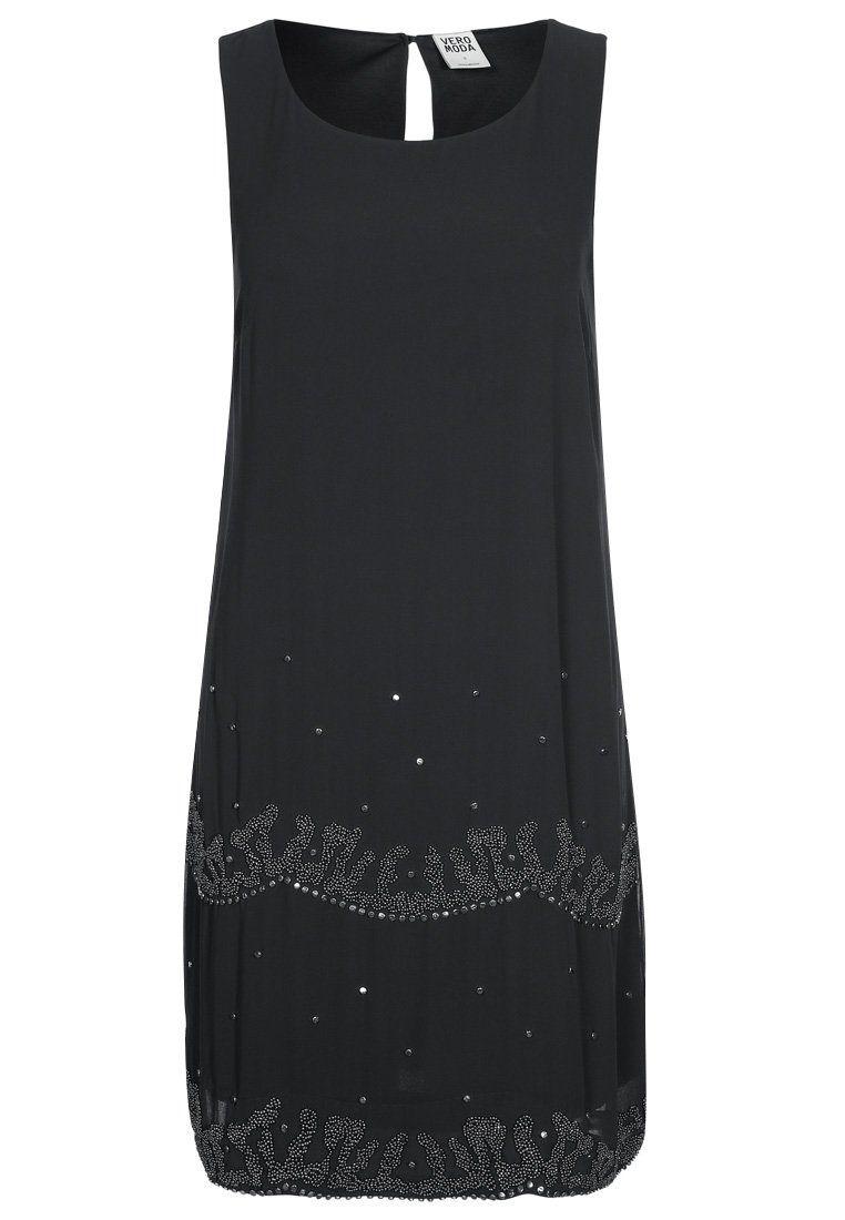Vero Moda - MINTRA - Cocktailkleid   festliches Kleid - asphalt ... 5bfb48ab1faf