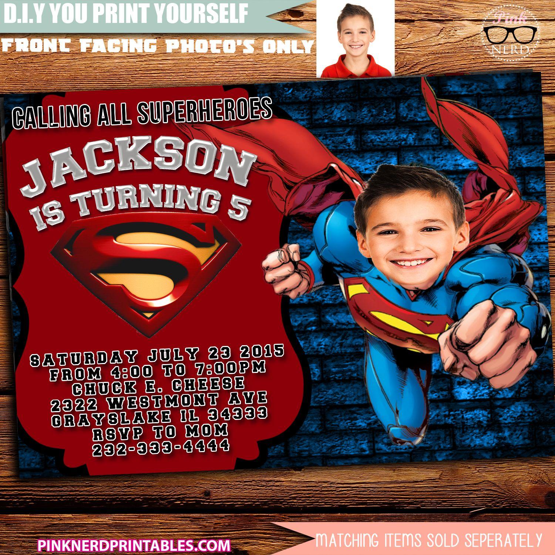 pin on boy birthday invitations printables