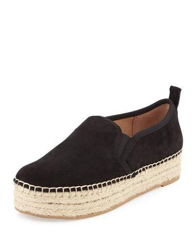 72e79b47891f4 SAM EDELMAN CARRIN SUEDE PLATFORM ESPADRILLE FLAT.  samedelman  shoes  flats