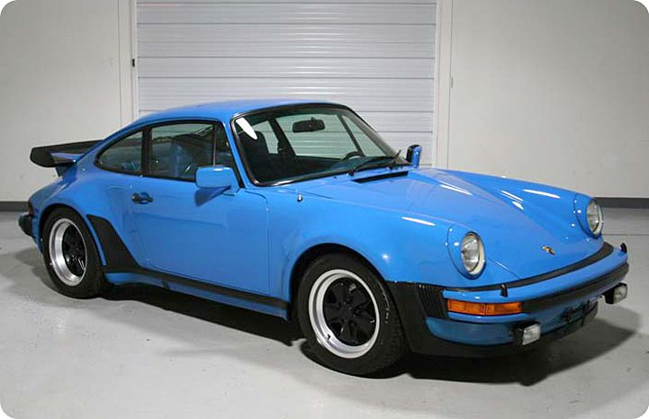 1979 911 TURBO COUPE ARROW BLUE WITH BLUE LEATHER