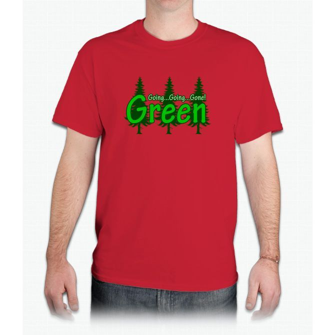 Going Going Gone Green - Mens T-Shirt