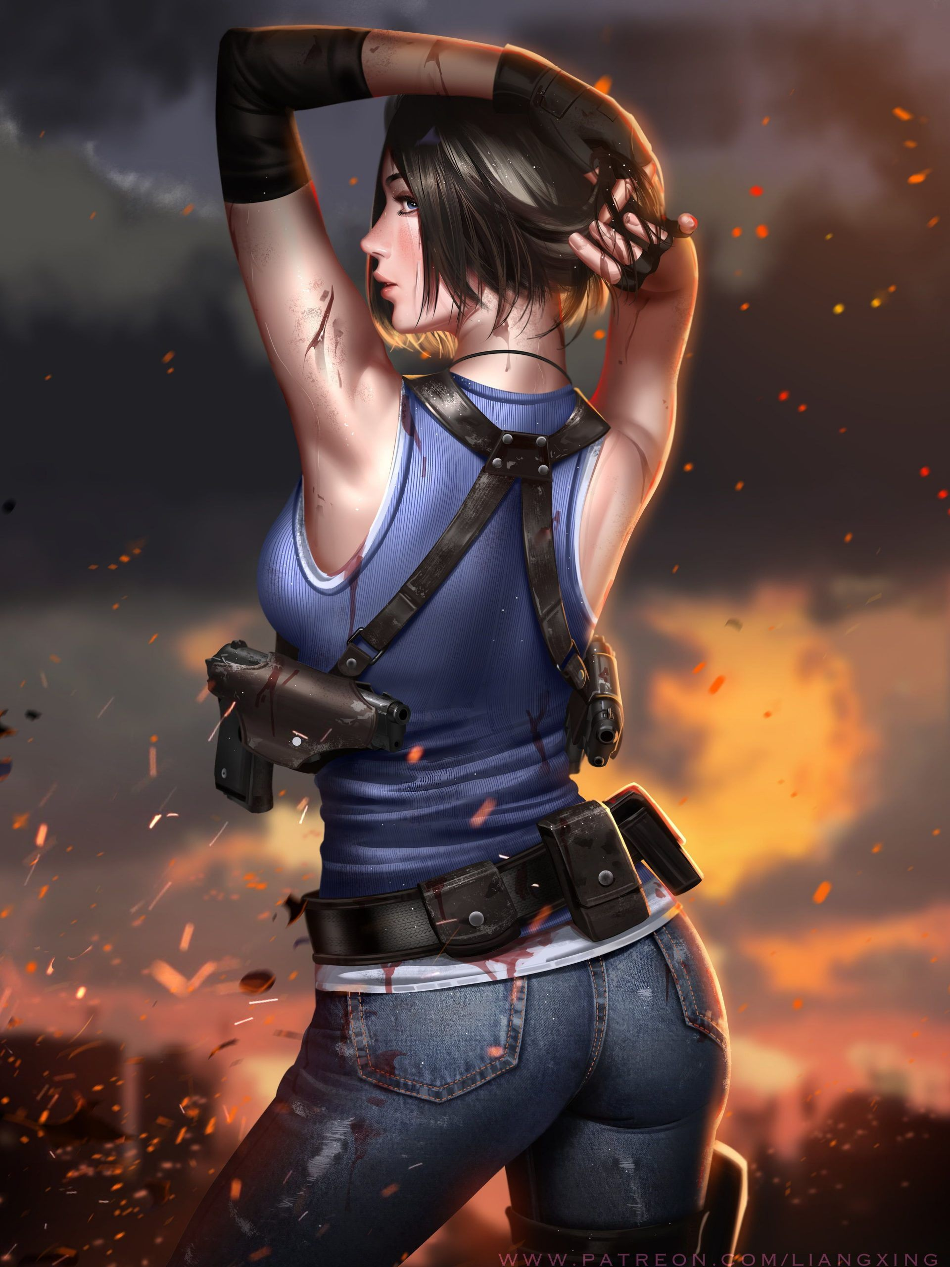 Jill Valentine,Resident evil 3, Resident Evil 3 Remake