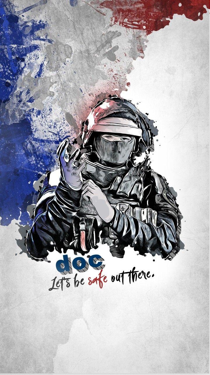 Doc R6s Mit Bildern Cosplay Ideen Videospiele Poster