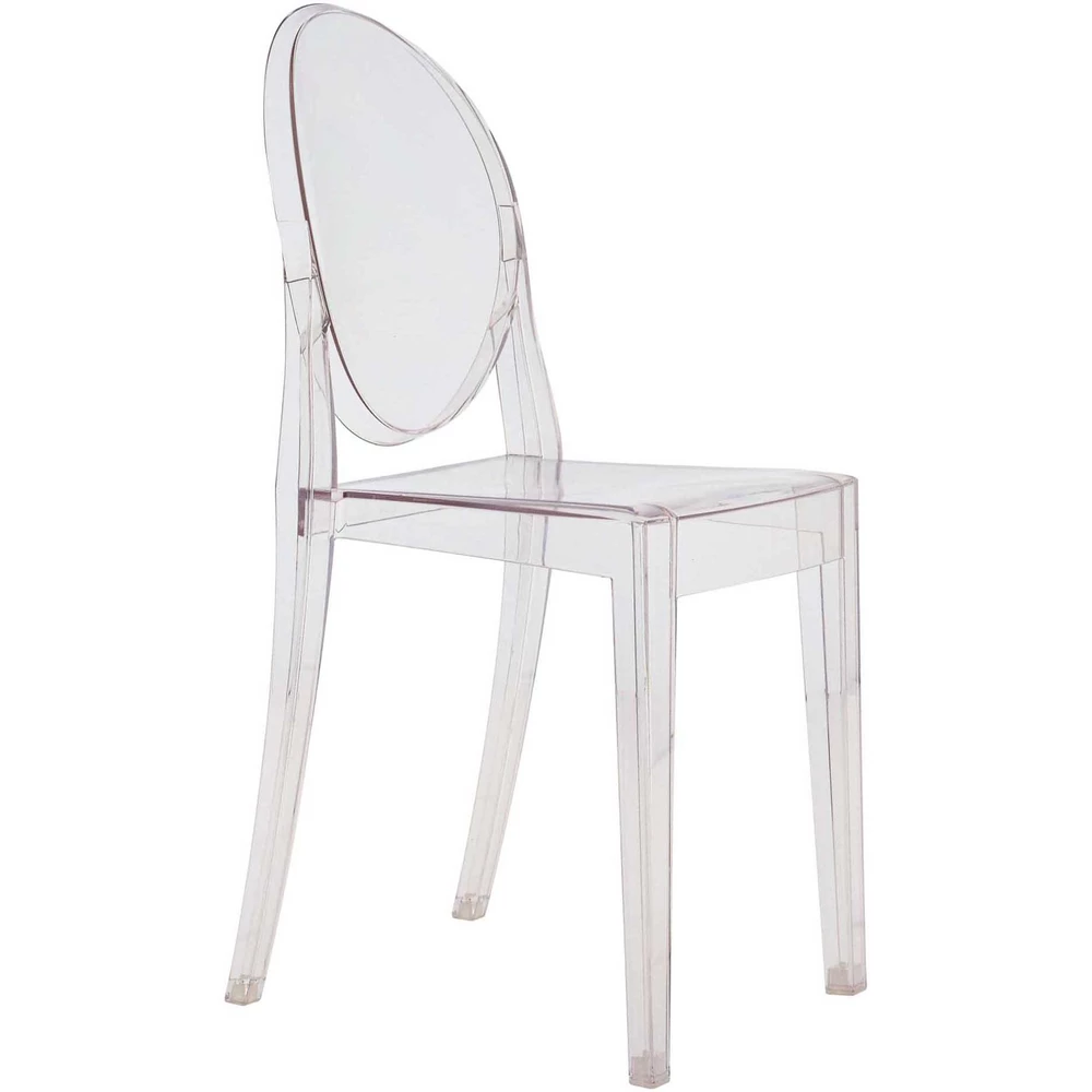 Anime Side Chair Transparent Set Of 4 With Images Kartell