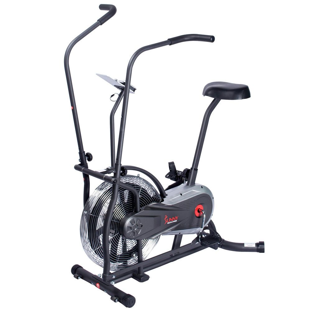 Ad Ebay Sunny Health Fitness Zephyr Air Bike Sf B2715