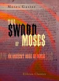 La espada de Moisés: Moses Gaster