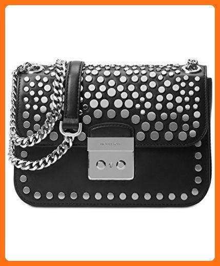 1a91dd6edf2af MICHAEL MICHAEL KORS Sloan Editor Medium Studded Leather Shoulder Bag - Shoulder  bags ( Amazon Partner-Link)