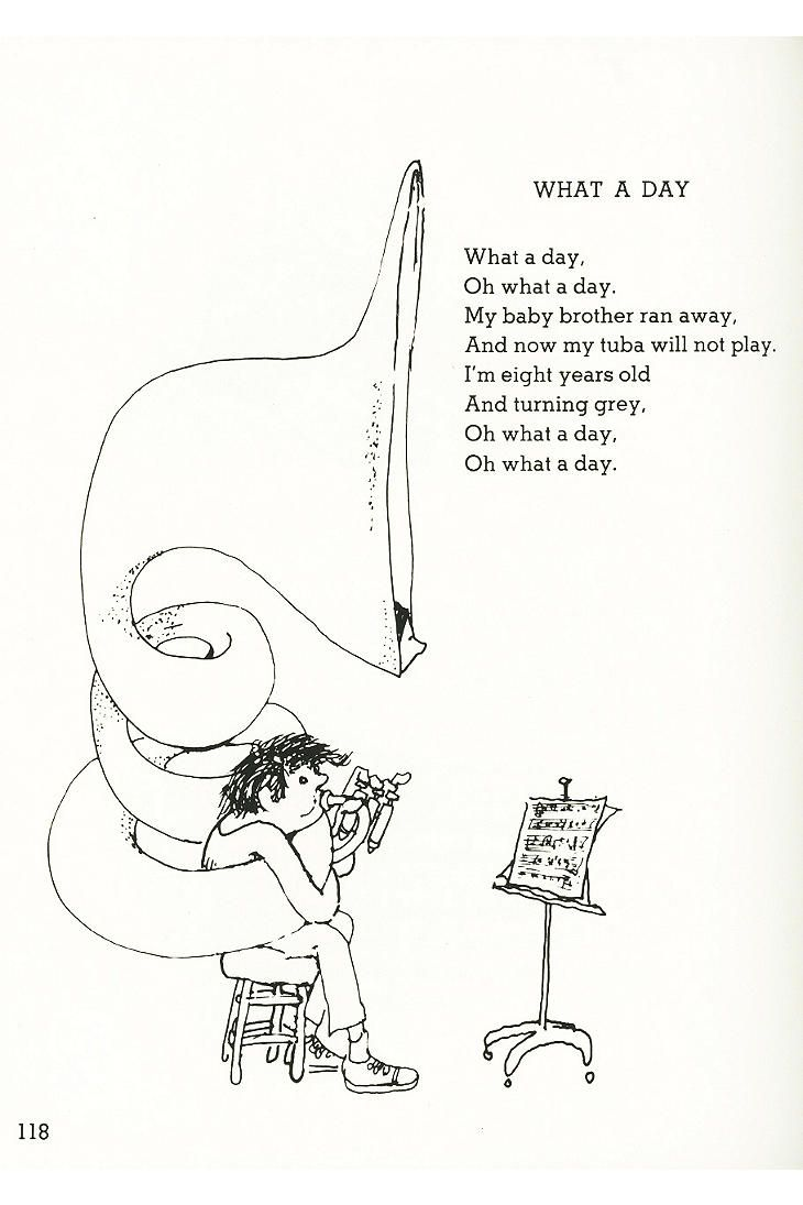 Where The Sidewalk Ends: Poems And Drawings By Shel ...