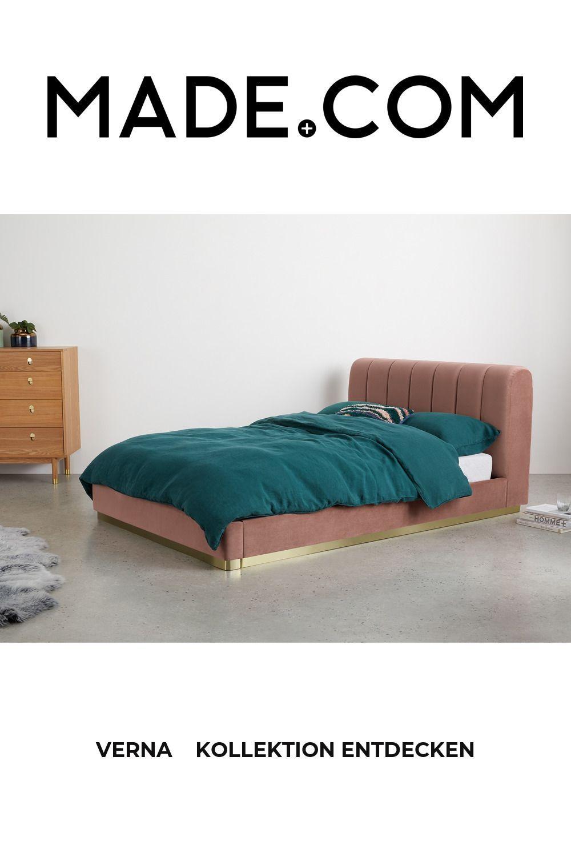 Made布張りの床 ピンク ベッド ベッドカバー 床
