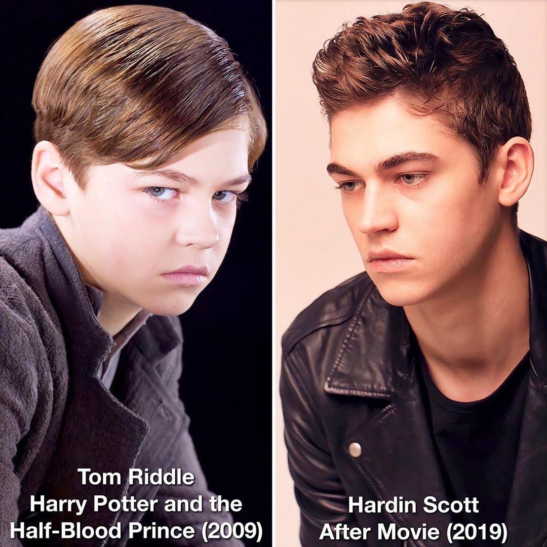 After On Instagram Tom Riddle And Hardin Scott Same Vibes Herofiennestiffin Herofiennestiffinisourhardins Tom Riddle Hardin Scott Harry Potter Movies