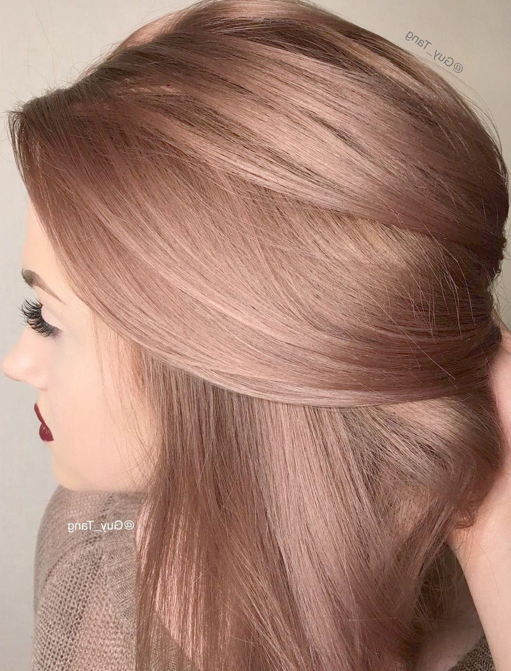 Hair Color Ideas For Blondes With Blue Eyes And Fair Skin Either Haircut Simi Valley In Hair Extensions Hair Color Rose Gold Gold Hair Colors Latest Hair Color