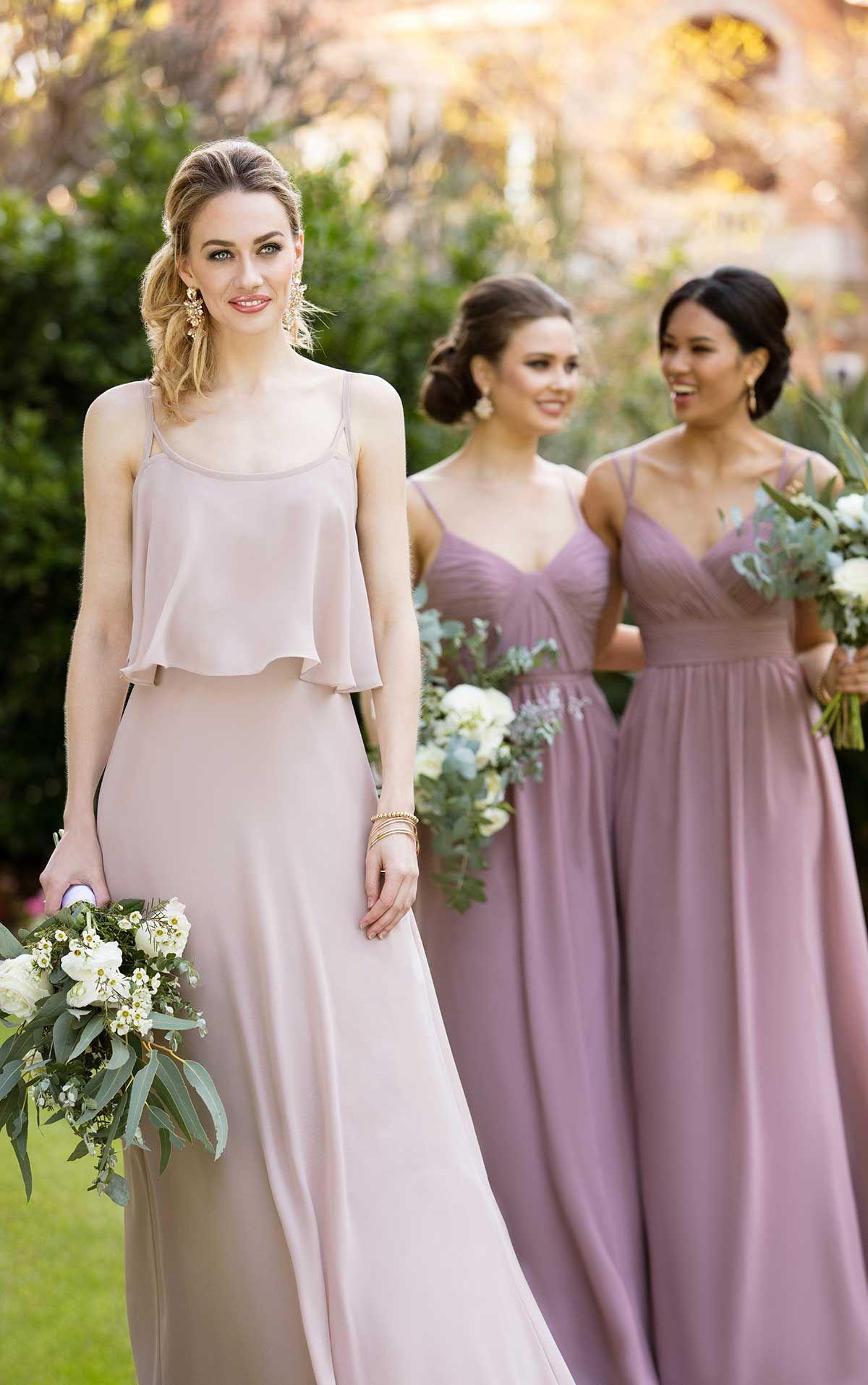 1baf23b8eef Dream Bridesmaid Dress with Ruched Bodice
