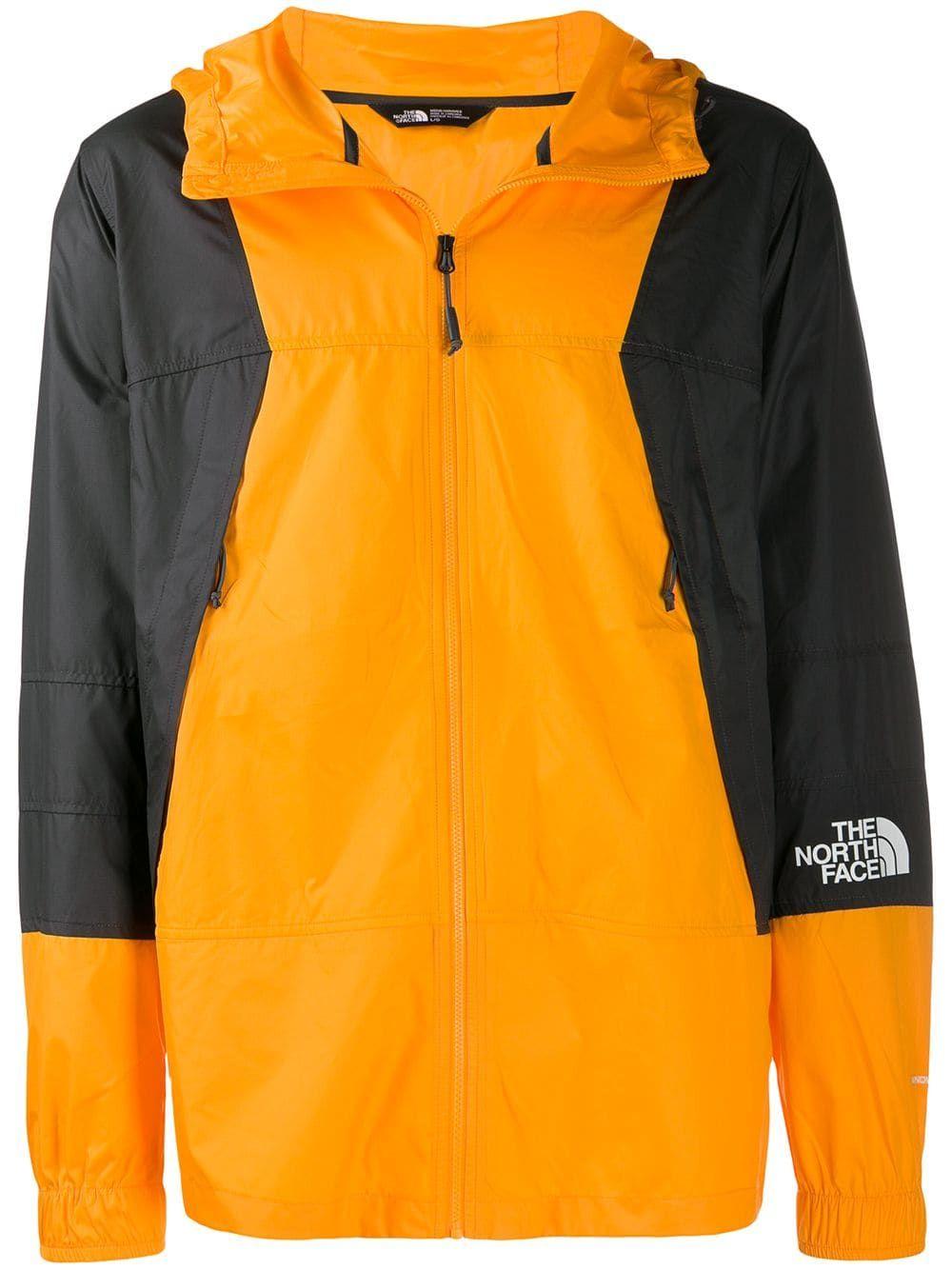 The North Face The North Face Two Tone Rain Jacket Orange Thenorthface Cloth Rain Jacket Black North Face The North Face [ 1334 x 1000 Pixel ]