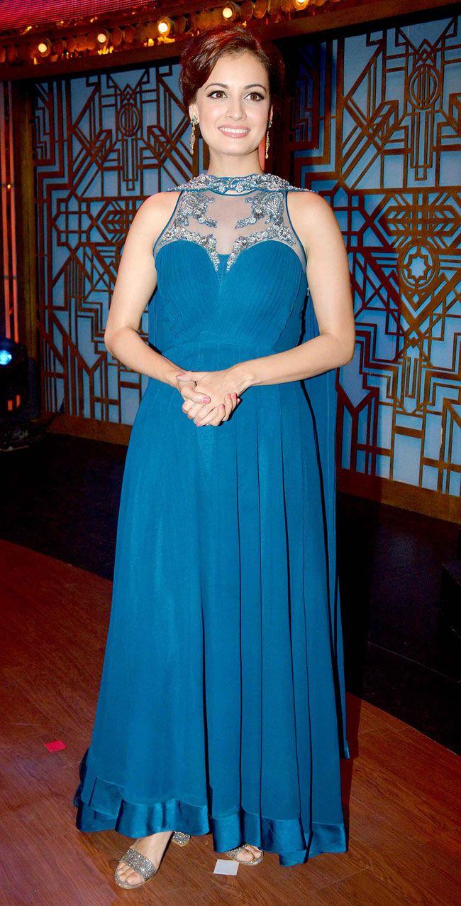 Dia Mirza on \'Entertainment Ke Liye Kuch Bhi Karega\' to promote ...