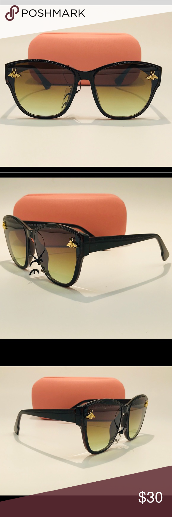 Stylish Shades Stylish Shades A ll Sunglasses include the following 1Pair of Sunglasses 1 Hard Carrying Case 1Soft Carrying Case that doubles as a cleaning cloth Accessor...