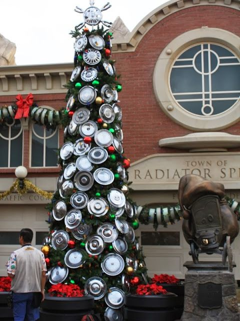 Christmas Trees of Cars Land