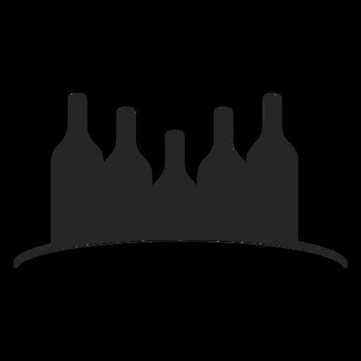 Wine Bottles Flat Icon Ad Affiliate Sponsored Bottles Flat Icon Wine Flat Icon Wine Bottle Icon