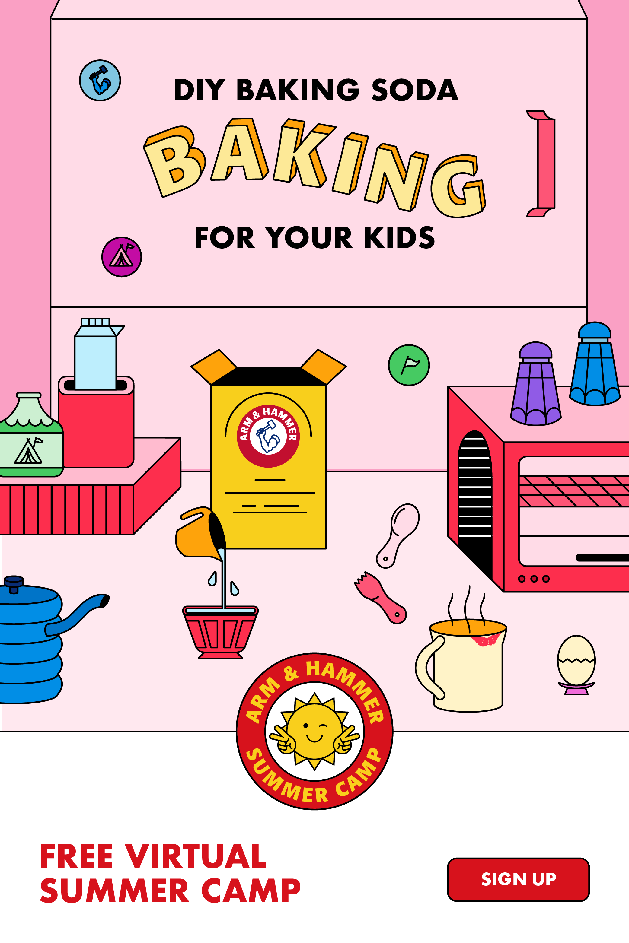 Free Diy On Demand Summer Camp For Kids In 2020 Summer Camps For Kids Summer Camp Kids