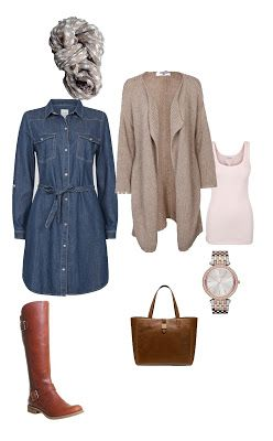 Moments in Time: The beauty of a capsule wardrobe - The Denim dress