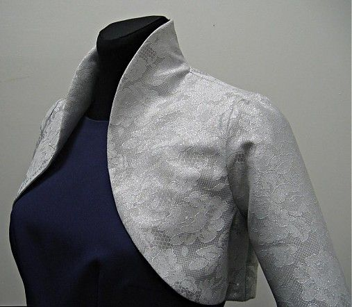 Luxusné bolerko by Dyona - SAShE.sk - Handmade Šaty