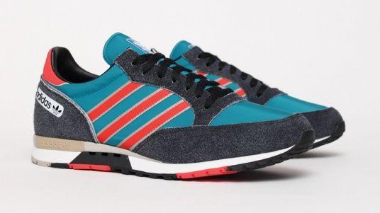 adidas Phantom Blue Red | Sneakers, Adidas, Adidas sneakers