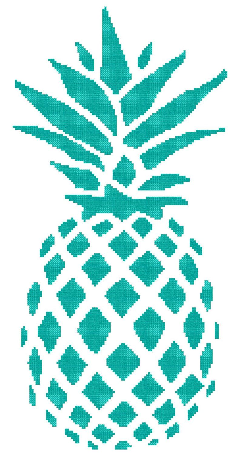 Perfect Pineapple A Counted Cross Stitch Pattern