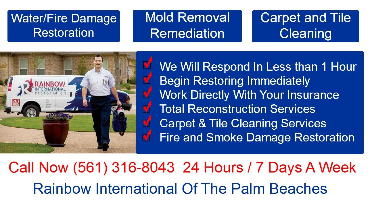 Flooded Home Cleanup Jupiter Fl Water Damage Restoration Smoke
