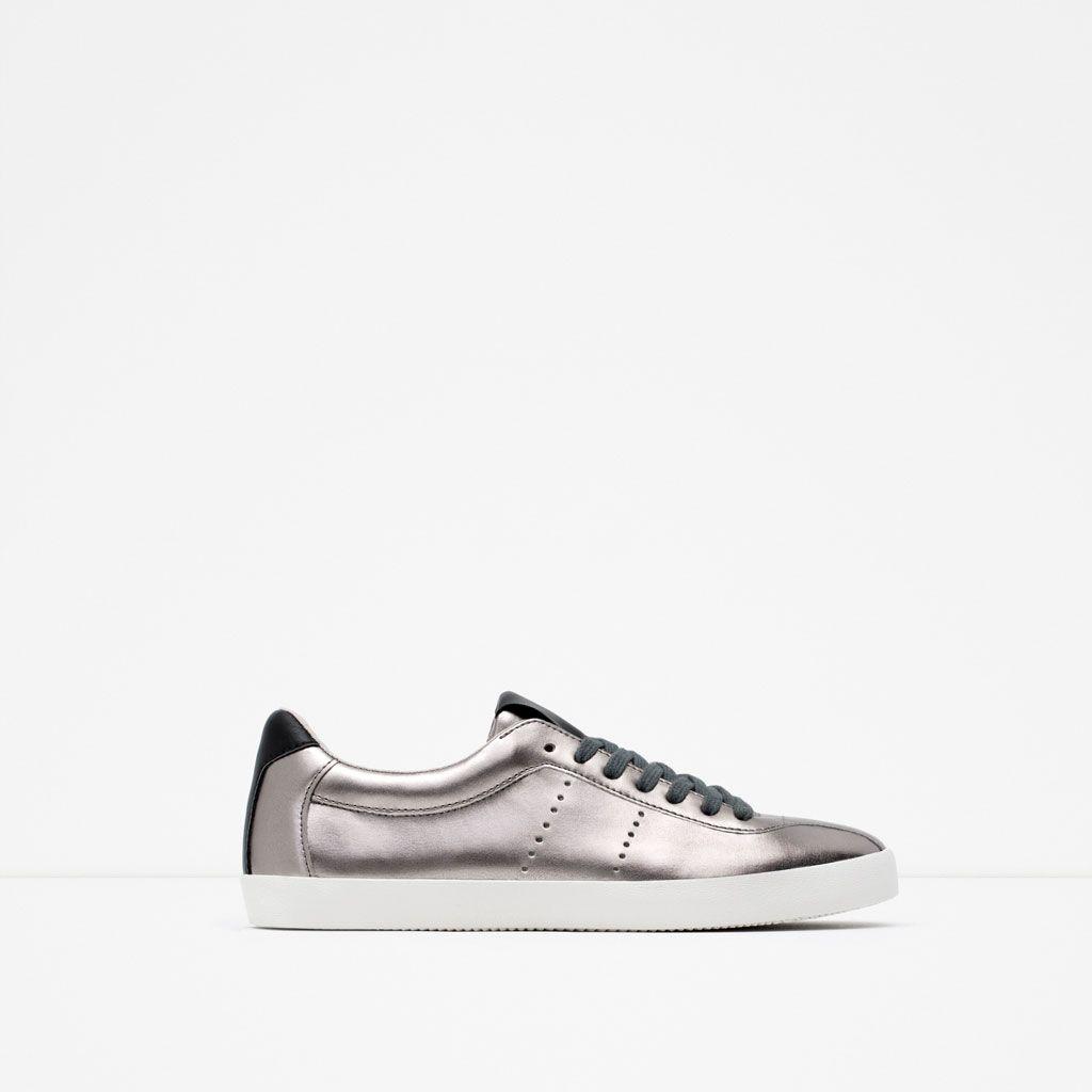 Image 1 of SHINY PLIMSOLLS from Zara