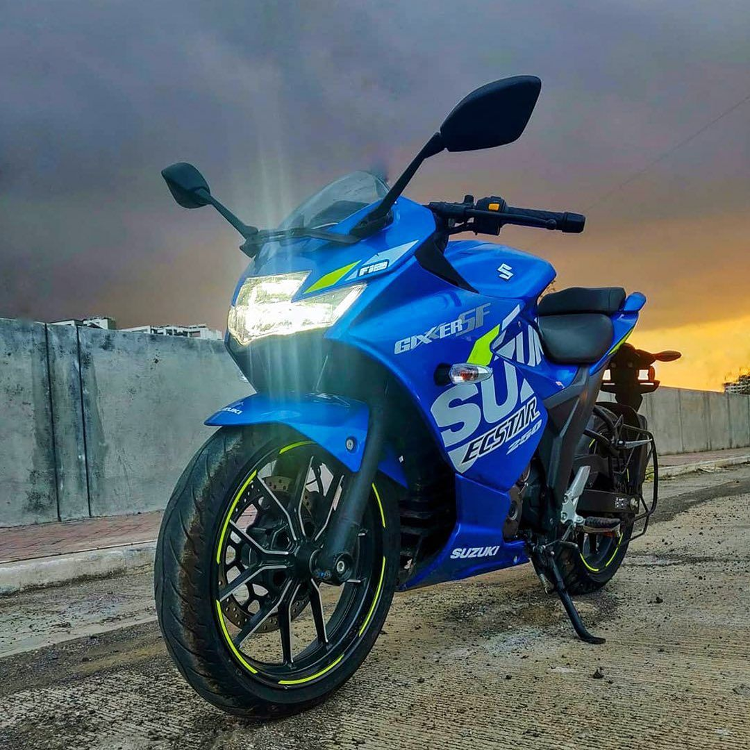 Suzuki launched new colour options for Gixxer 250 and 155