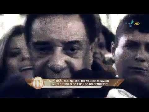 Barraco! Agnaldo Timóteo X Wando no velório do cantor!!