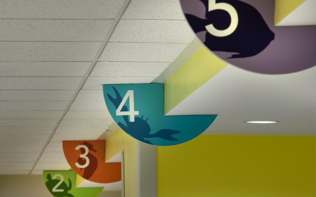 Interior Design Environmental Graphics Pediatric Healthcare Childrens Hospital