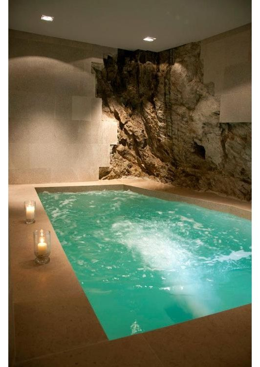 Hot Tub Spa Idea Indoor Swimming Pool Design Indoor Hot Tub Indoor Swimming Pools