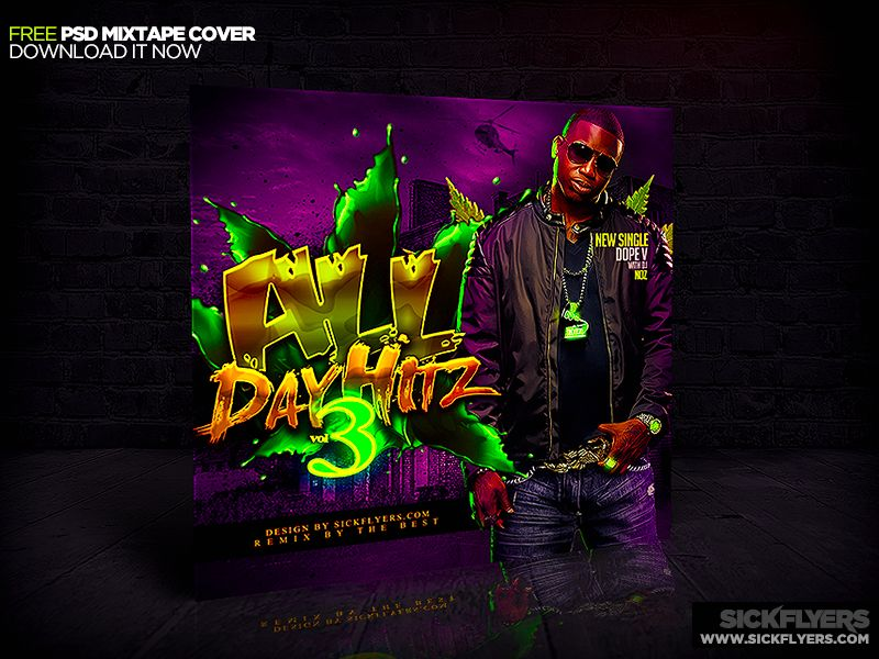 Free Mixtape Cover Psd By Industrykidziantart On Deviantart